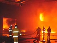 Atendimento às ocorrencias de Incêndio em Indústrias