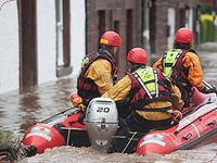 Salvamento em Enchentes