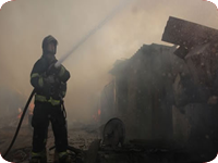 Combate a Incêndio em Habitação Precária