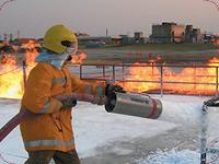 Emprego de Espuma Mecanica no Combate a Incêndio